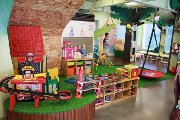 ㄟ米間親子友善風味料理-兒童遊戲區