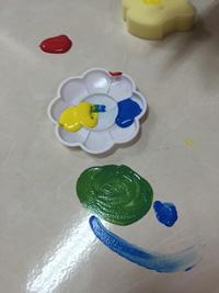 GIOTTO創意寶寶手指彩繪組-三原色組合