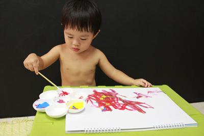 GIOTTO創意寶寶手指彩繪組-用畫冊限制範圍