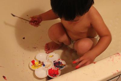 GIOTTO創意寶寶手指彩繪組-在浴室畫畫
