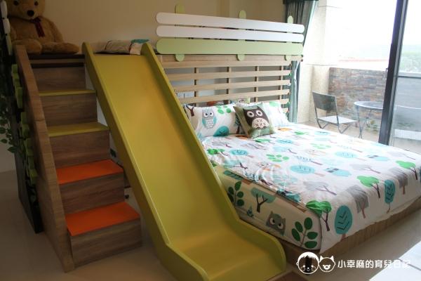 童伴親子民宿-森林溜滑梯四人房