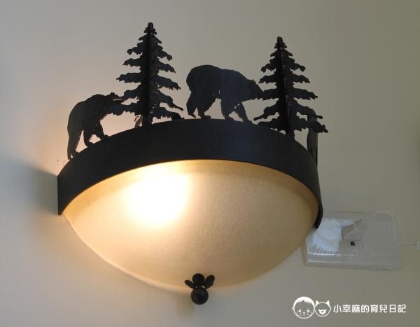 童伴親子民宿-漂亮的燈具