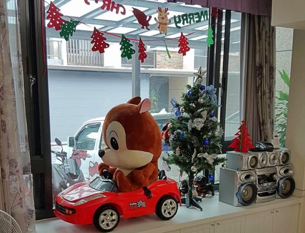 童伴親子民宿-聖誕節佈置