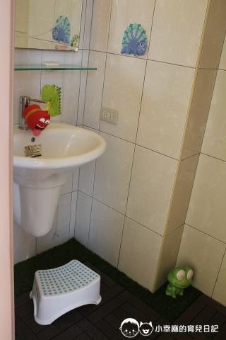安平倆倆親子民宿-廁所