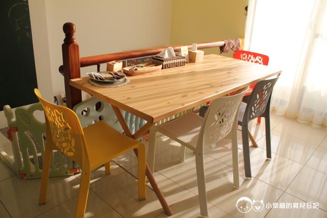 安平倆倆親子民宿-餐桌