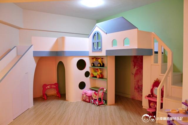 童樂繪親子遊戲館-房內的遊戲空間