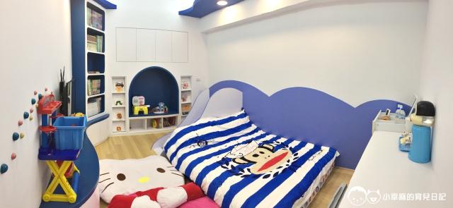 童樂繪親子遊戲館-卡通溜滑梯雙人房