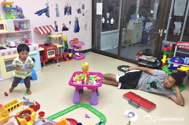 童樂繪親子遊戲館-躺著陪玩
