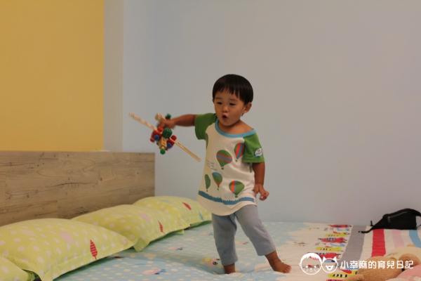 台南Candy肯蒂親子民宿-家家酒六人房玩玩具