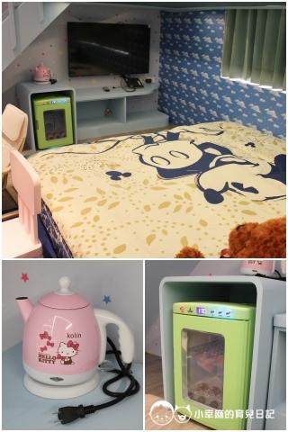 詩情夢幻城堡-睡床區