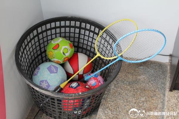 詩情夢幻城堡-球具