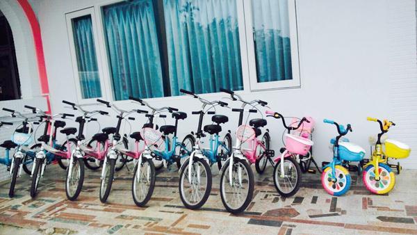 詩情夢幻城堡-親子腳踏車