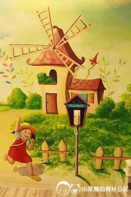 幸福童漾親子民宿-童趣風彩繪