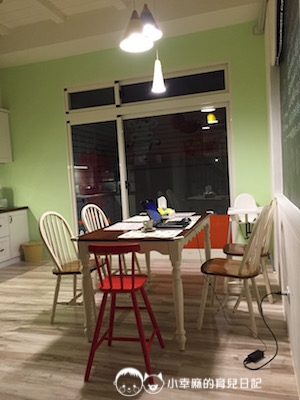 幸福童漾親子民宿-餐桌