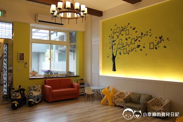 幸福童漾親子民宿-客廳空間