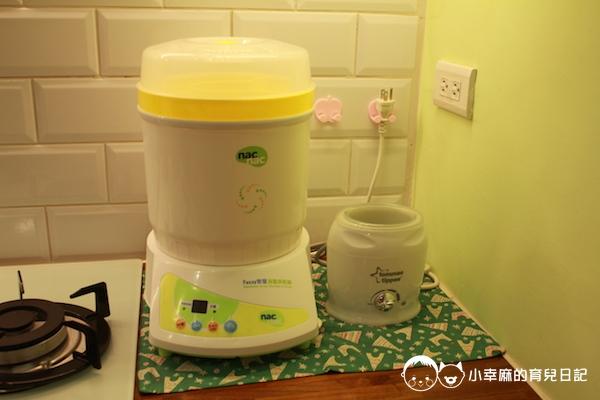 幸福童漾親子民宿-提供奶瓶消毒鍋、溫奶器
