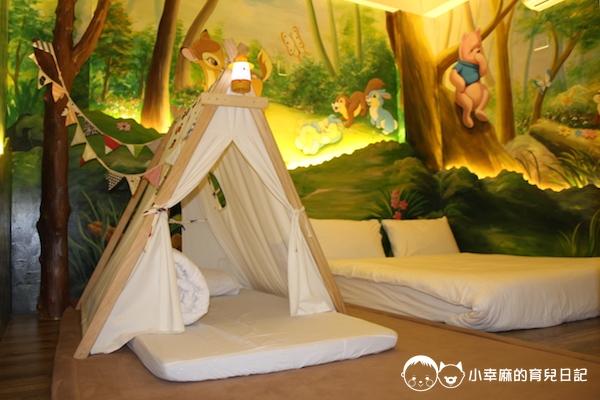 幸福童漾親子民宿-夜光森林雙人房