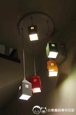 幸福童漾親子民宿-造型燈具