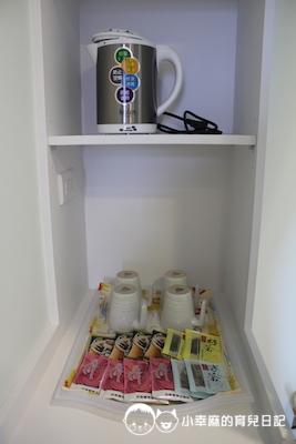童樂匯主題式親子民宿-提供茶包咖啡