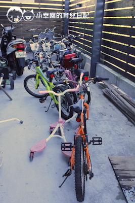 童樂匯主題式親子民宿-提供腳踏車