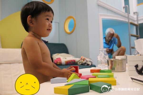 西港外婆家民宿-積木玩具