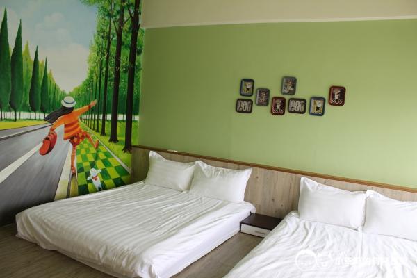 西港外婆家民宿-彩繪牆