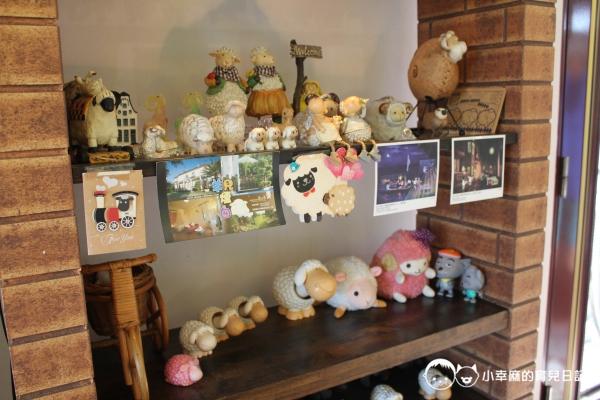 花蓮民宿羊兒煙囪-小羊裝飾品
