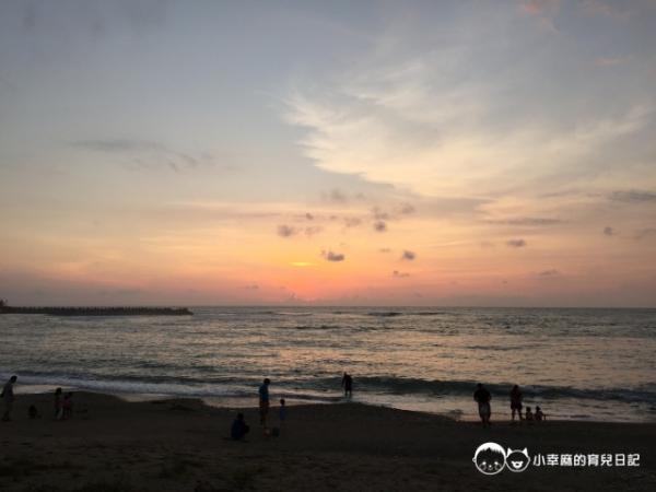 墾丁後灣牧羊人與海民宿-夕陽