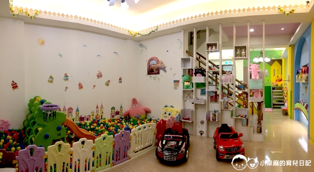 漫步花園親子童趣館-一樓全景圖