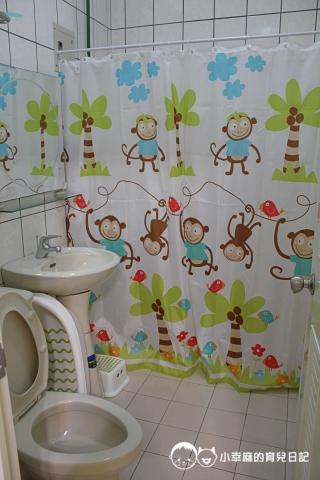 月明風清民宿-浴廁