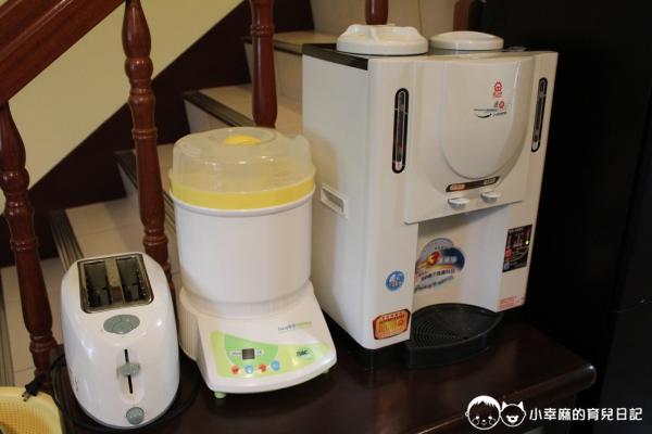 月明風清民宿-有飲水機、奶瓶消毒鍋