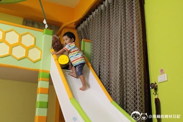 月明風清民宿-溜滑梯往上爬也可以