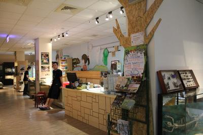 台灣昆蟲館-服務