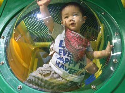 台北LOVE樂福親子館-旋轉溜滑梯