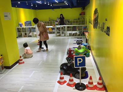 台北LOVE樂福親子館-道路駕駛