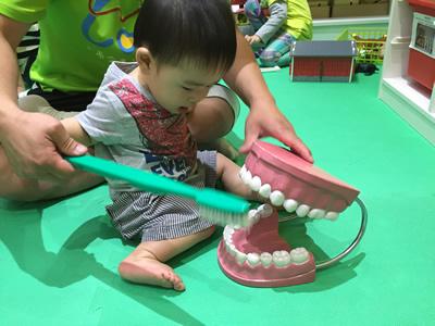 台北LOVE樂福親子館-刷牙玩具