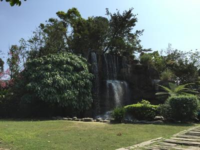 準園生態莊園-瀑布
